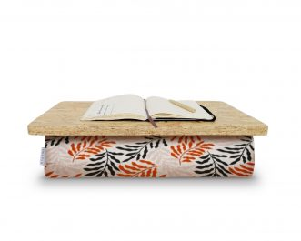 Lap desk with cushion